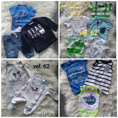 Oblečení kluk 56-68