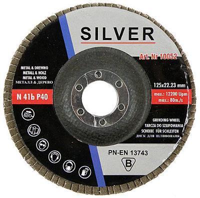 Kotouč lamelový brusný na ocel 125/80  10ks