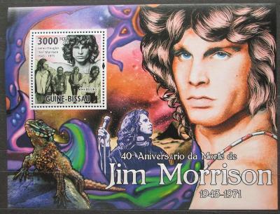 Guinea-Bissau 2011 The Doors, Jim Morrison Mi# Block 904 Kat 12€ 2301