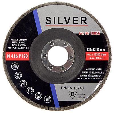 Kotouč lamelový brusný na ocel 125/120  10ks