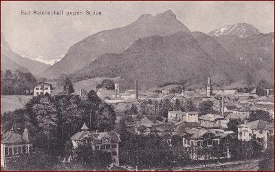 Bad Reichenhall * část města, hory, Alpy * Německo * Z1462