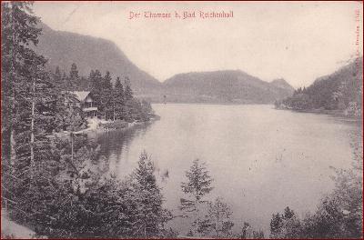 Thumsee (Bad Reichenhall) * jezero, hory, Alpy * Německo * Z1489