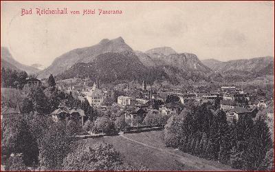 Bad Reichenhall * část města, hory, Alpy * Německo * Z1506