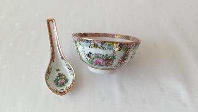 Retro čínský porcelán