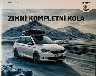 Prospekt Škoda Zimní Kola 2015 - CZ