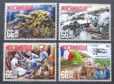 Mosambik 2016 Bitva u Verdunu Mi# 8509-12 Kat 15€ 2306