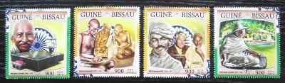 Guinea-Bissau 2016 Mahatma Gandhí Mi# 8654-57 Kat 13.50€ 2303