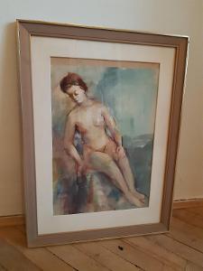 Obraz od Josefa Haška - akvarel