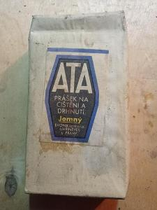 Čisticí prášek ATTA- retro socialismus