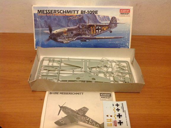 ACADEMY - Messerschmitt Bf-109E, 1/72 - Modelářství