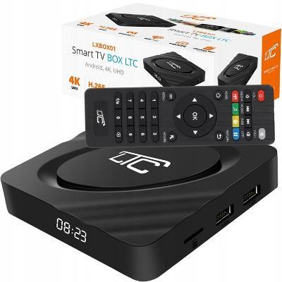 SMART BOX TV 4K NETFLIX YOUTUBE WIFI ANDROID 9.1