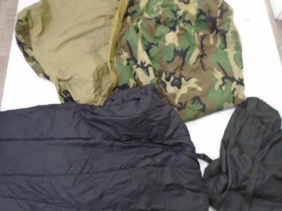 Orig US Army 4dílný modulární spací systém MSS v mask Woodland použ II