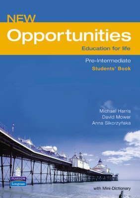 New opportunities,Pre-Intermediate Students Book, učebnice angličtiny