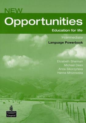 New opportunities,Intermediate Language PowerBook,prac.seš angličtiny