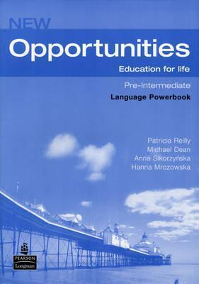 New opportunities,Pre-Intermediate Language PowerBook, angličtina