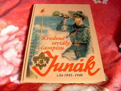 KRESLENÉ SERIÁLY ČASOPISU JUNÁK Z LET-1945-1948-NOVINKA--2020.
