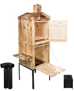 Bytelná dřevěná udírna 180cm