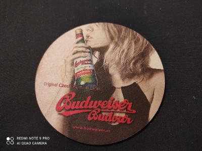 Budweiser Budvar podtácek