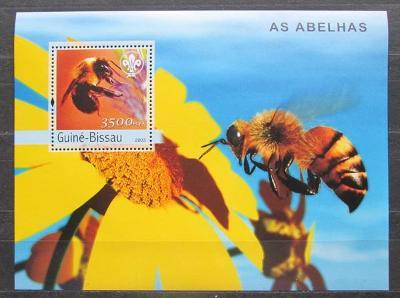 Guinea-Bissau 2013 Včely Mi# Block 446 Kat 18€ 2309