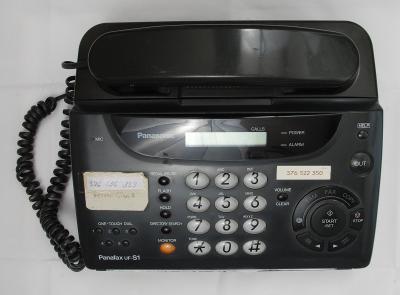 Telefon s faxem pro sběratele Panafax UF-S1