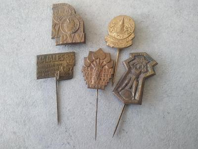 Odznak Starý odznak Plechový odznak Sbírka SK Sport Veletrh Erb Znak