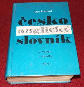 Česko anglický slovník