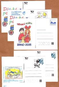ČSR II. CDV - Dětská pošta 5 Ks