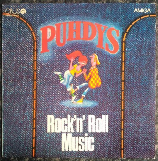LP Puhdys - Rock'n' Roll Music - Hudba