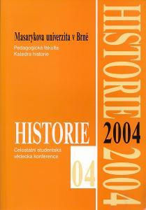 sborník Historie 2004