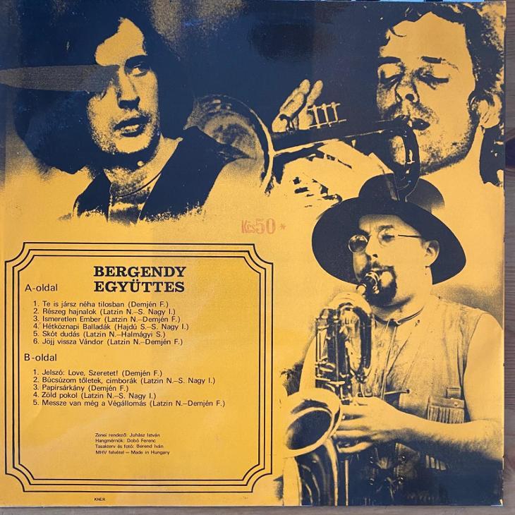 Bergendy – Bergendy - LP vinyl - Hudba