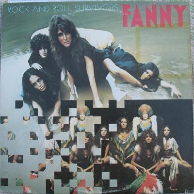 LP FANNY Rock And Roll Survivors, 1974, 1.press, USA