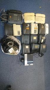 Konvolut telefony záznamník fax analog 90. léta