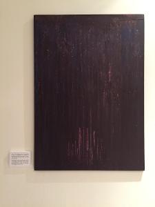 Abstraktní obraz akryl, série Strach (71x50)