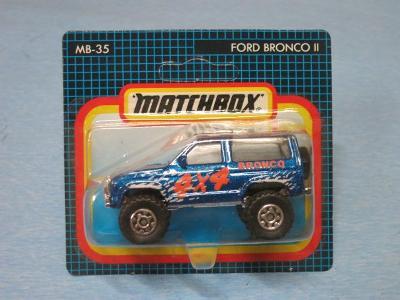 MATCHBOX  - FORD BRONCO II