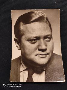 Rudolf Hrušínský ml / Stará pohlednice