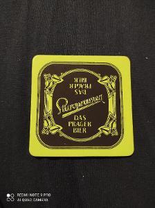 Staropramen Das Prager Bier  / světle zelený