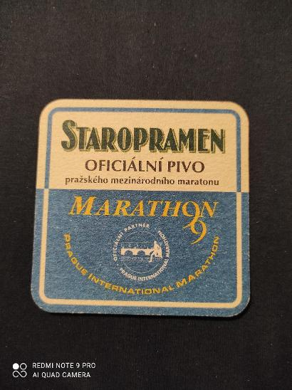 Staropramen Marathon tácek - Nápojový průmysl