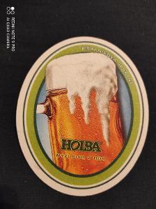 Holba krápníková jeskyně pivní tácek