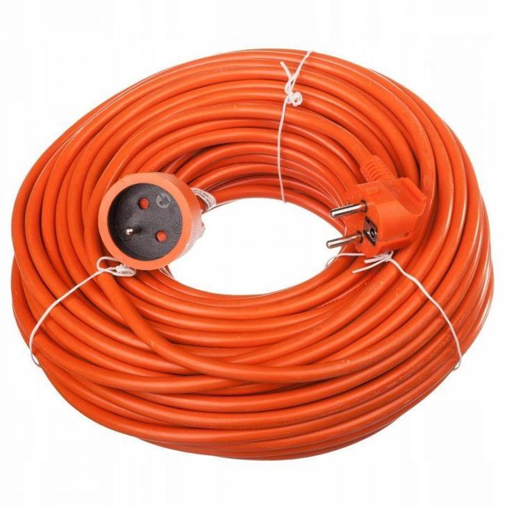 10m Prodlužovací kabel zahradní prodlužovačka 2x0,75mm KD4019 - Stavebniny
