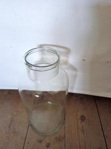 Stará sklenice na nakládání/cca 3,5 l...(13067P)