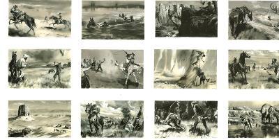 Zdeněk BURIAN - kvalitní skeny ilustrací - více v textu