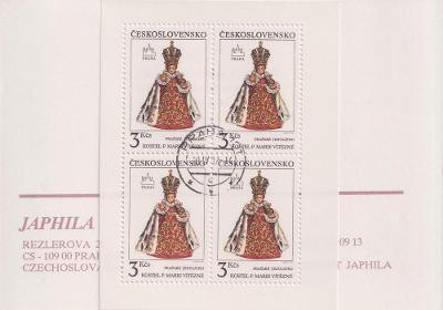 Známkový sešitek Sevilla - Pražské Jezulátko - Japhila - ražené