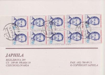 Známkový sešitek Ifabo Wien 92 - Japhila - ražené