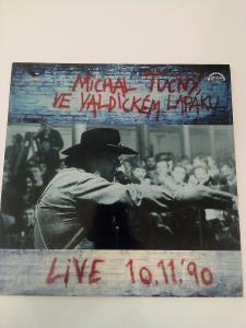 Michal Tučný ve Valdickém Lapáku Live -výb. stav- ČR 1991 LP RARITA