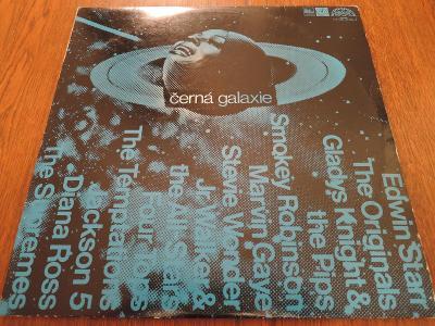 2xLP Černá galaxie (Stevie Wonder, Jackson 5, Diana Ross...) TOP STAV