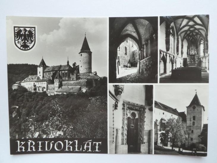 hrad Křivoklát, Rakovník - Pohlednice