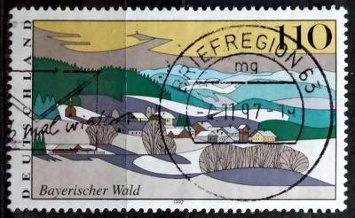 DEUTSCHLAND: MiNr.1943 Bavarian Forest 110pf 1997