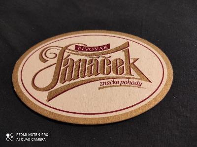 Pivovar Janáček tácek