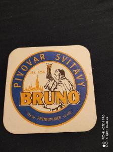 Pivovar Svitavy Bruno tácek