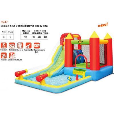 Happy Hop Skákací hrad Vodní skluzavka